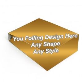 Golden Foiling - Gable Bag Packaging