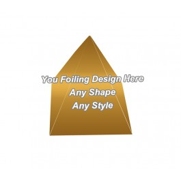 Golden Foiling - Pyramid Shape Boxes