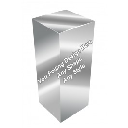 Silver Foiling - Eye Drops Packaging Boxes