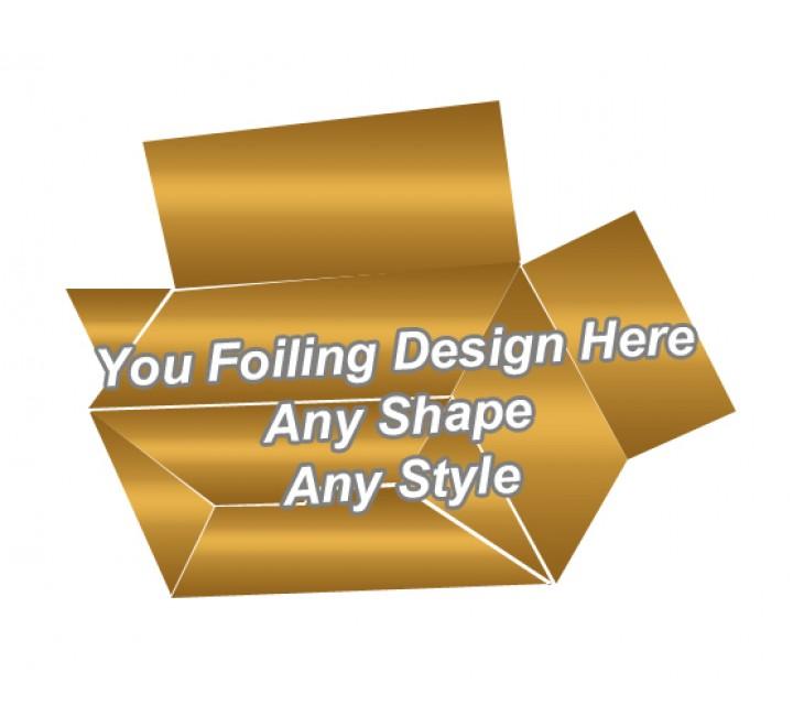 Golden Foiling - Full Flap Auto Bottom Boxes