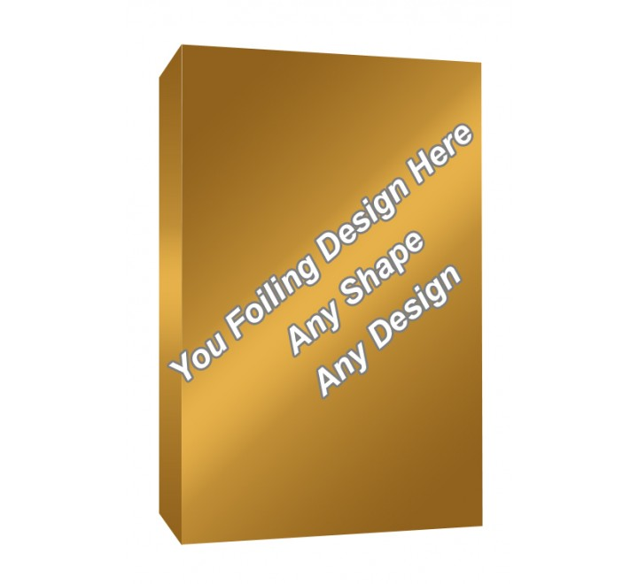 Golden Foiling - Medicine Packaging Boxes