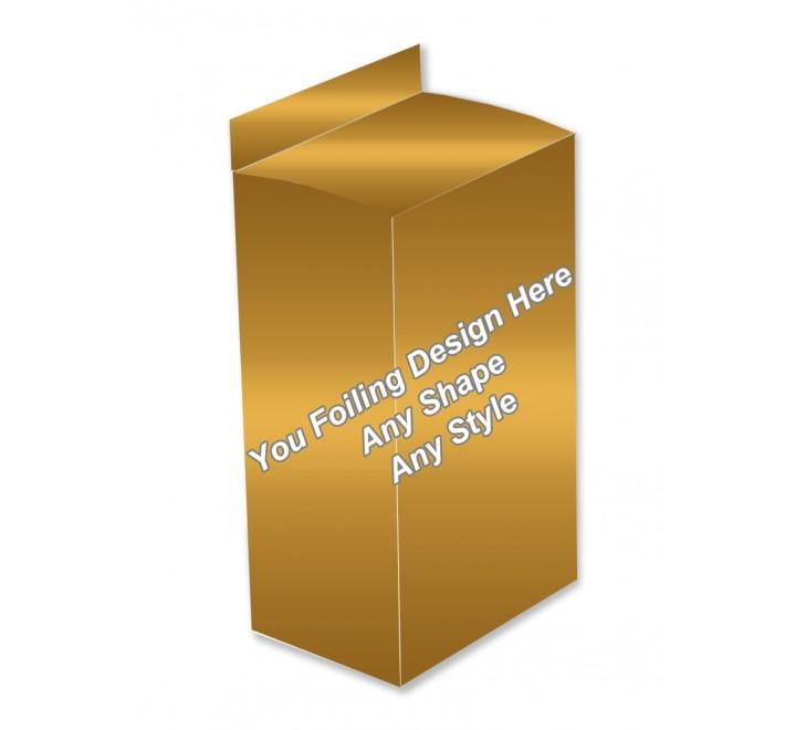 Golden Foiling Boxes