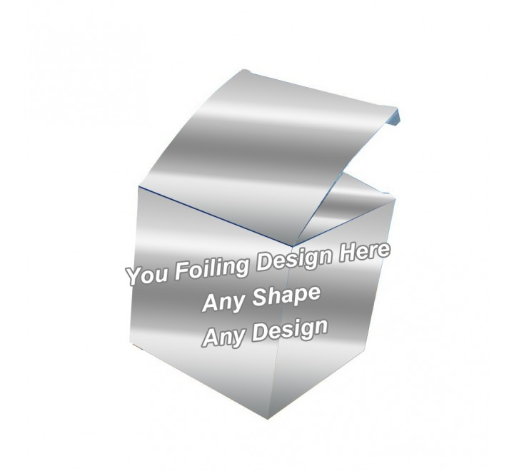Silver Foiling - Cube Boxes