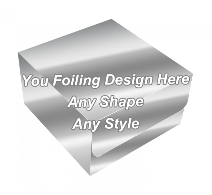 Silver Foiling - Bakery Packaging Boxes