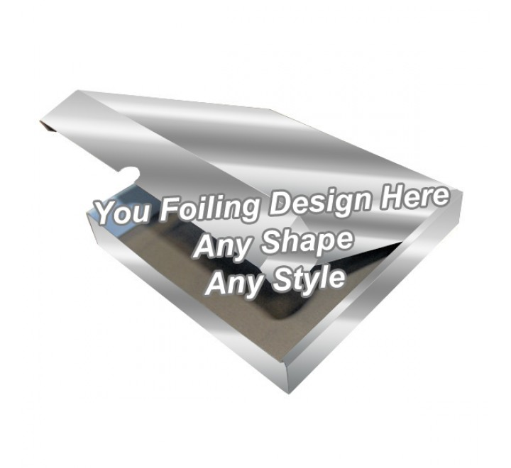 Silver Foiling - Tamp On Packaging Boxes