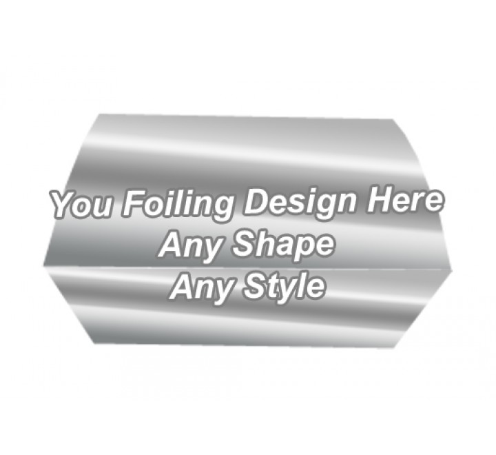 Silver Foiling - Bath Bombs Packaging Boxes