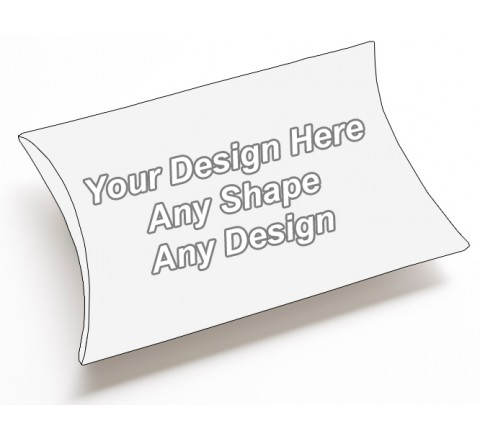 Custom - Pillow Style Packaging Boxes