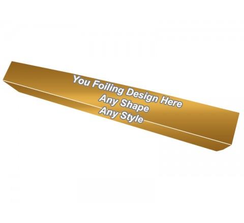 Golden Foiling - Lipstick Lip Gloss Packaging