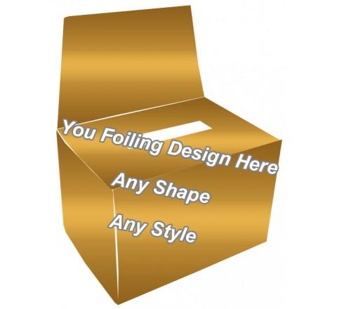 Golden Foiling  - Socks Packaging