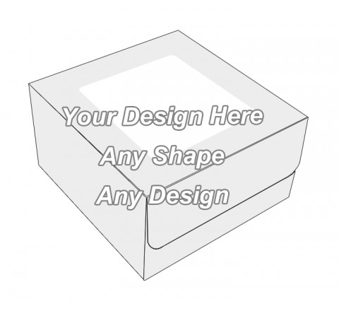 Window - Tuck End Auto Bottom Cupcake Box